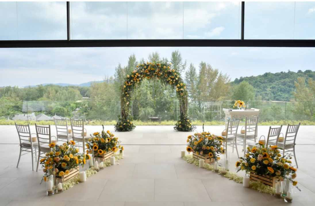 Anantara Layan Phuket Resort Layan Chapel Wedding Package (20 pax)