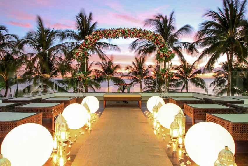 The District Boracay Wedding Package (20 pax)