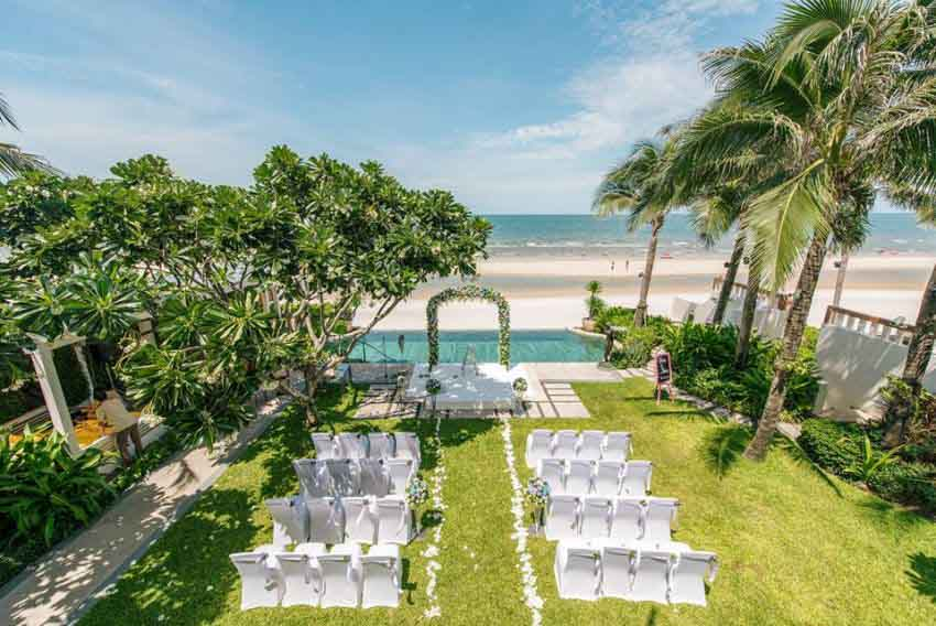 Intercontinental Hua Hin Resort Wedding Package (40 pax)