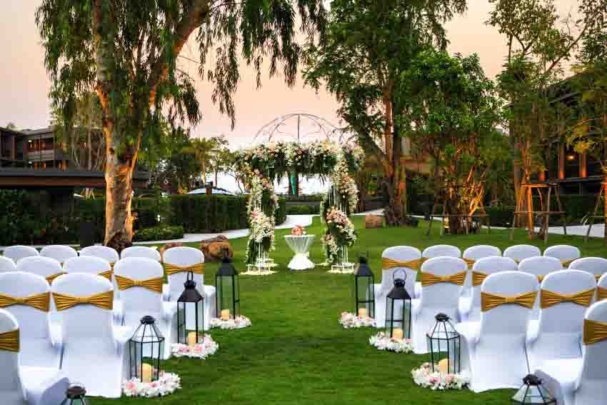 Hua Hin Marriott Resort & Spa Wedding Package (30 pax)