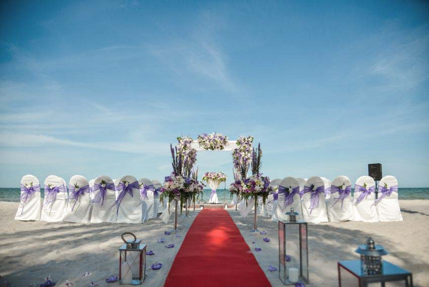 Marrakesh Hua Hin Resort & Spa Wedding Package (40 pax)