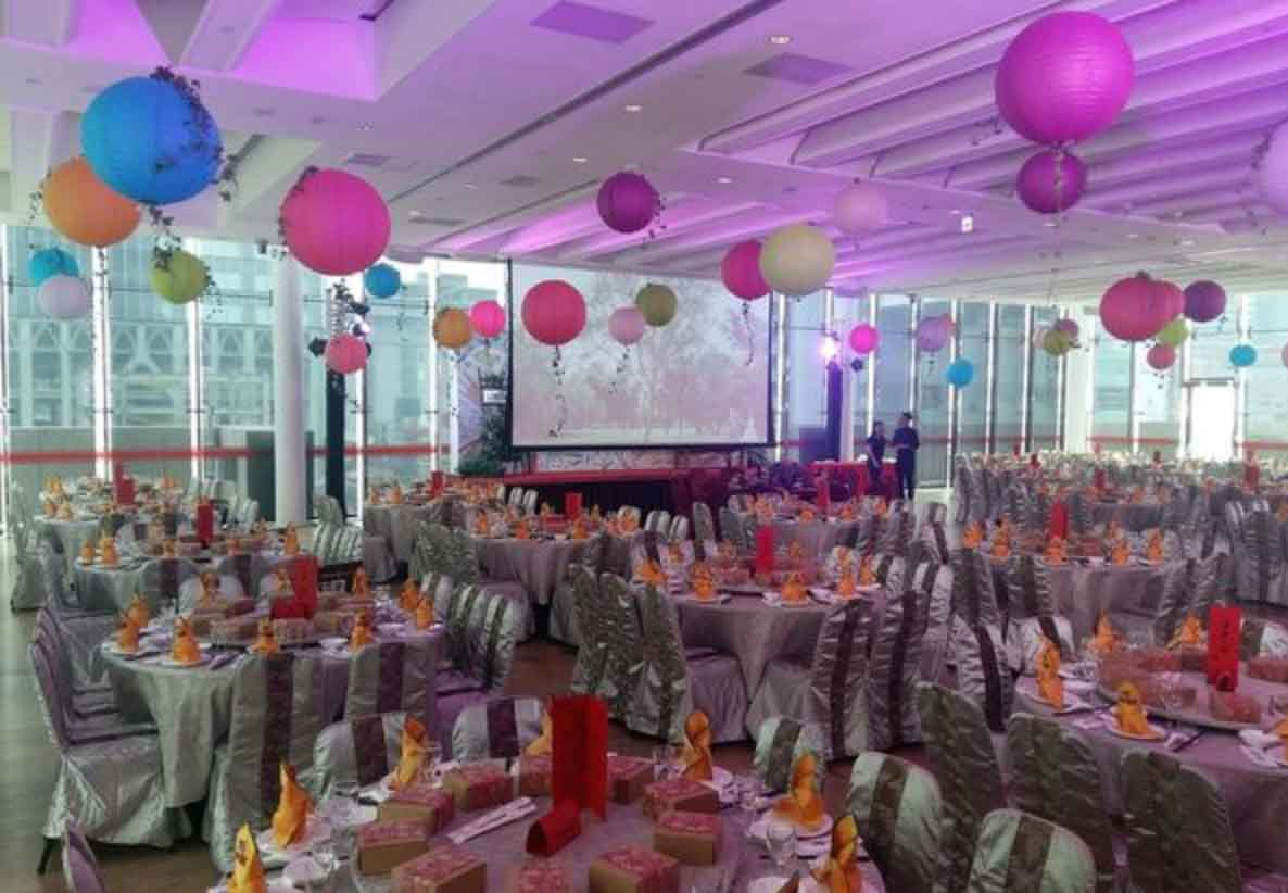 Hua Nan Bank Function Room All-Inclusive Wedding Package (Venue & F&B Costs Not Included - Dependent on Guest Count)