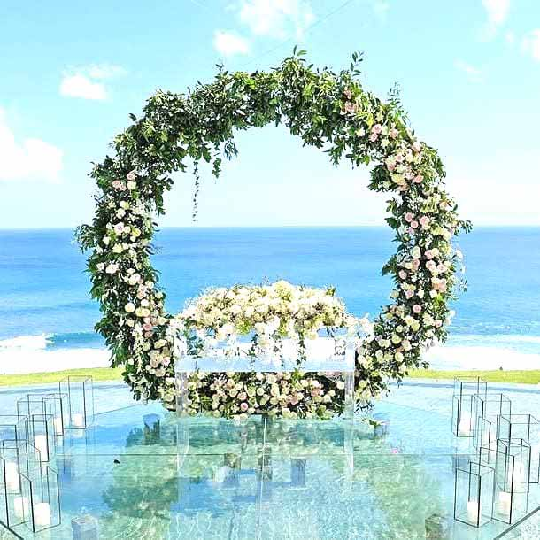 Kamaya Bali On Water Ceremony Venue (50 pax) Wedding Package