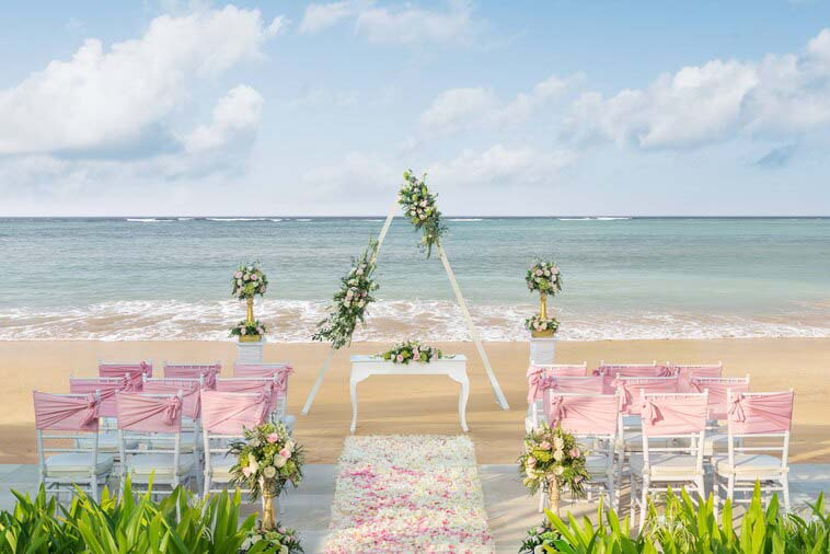 The Laguna, Bali Beach Romance Wedding Package (100 pax)