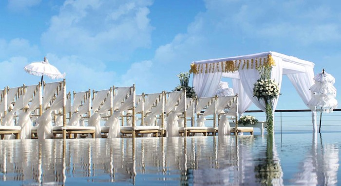 The edge Sea Wedding All-Inclusive (50 pax)