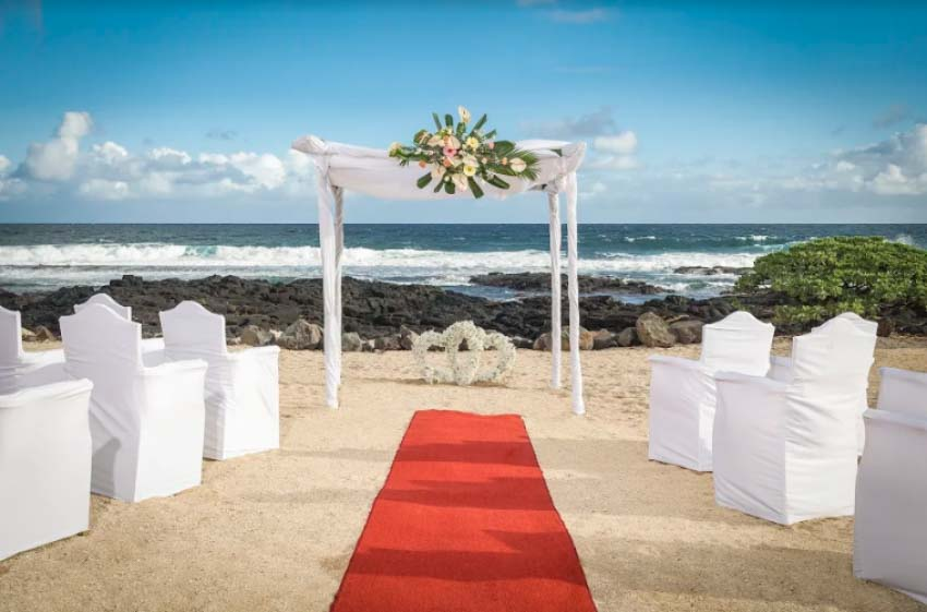 Shanti Maurice Resort & Spa Wedding Package (2 pax)