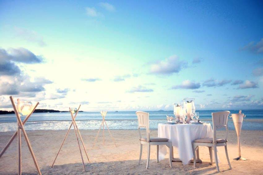 Lux Belle Mare Wedding Package (2 pax)
