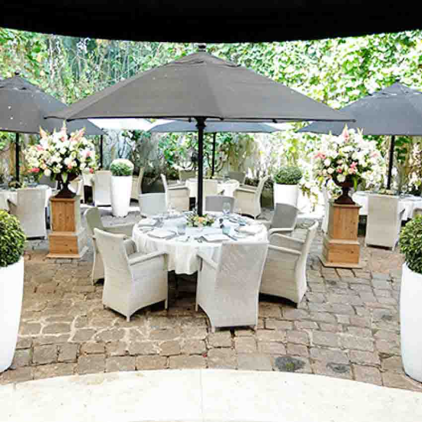 Paradise Road Tintagel Colombo Wedding Package (40 pax)
