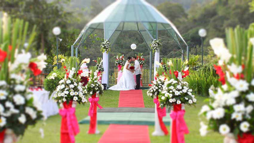 Chateau De Busay Wedding Package (100 pax)