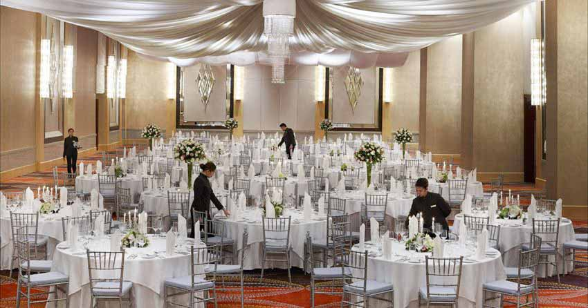 Raffles Makati Wedding Package (100 pax)