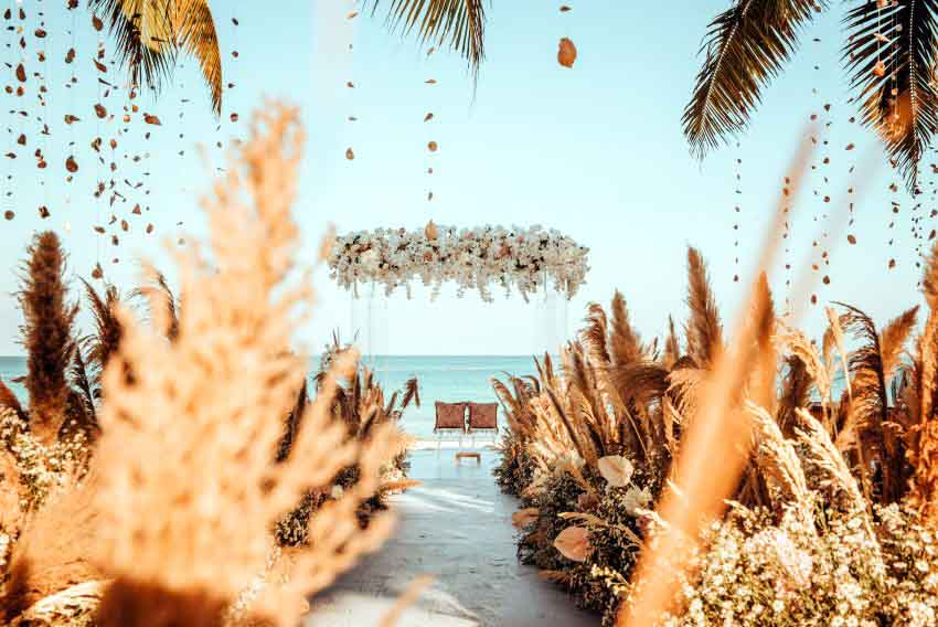 Jw Marriott Phu Quoc Emerald Bay Resort & Spa Crystal Romance Wedding Package (50 pax)