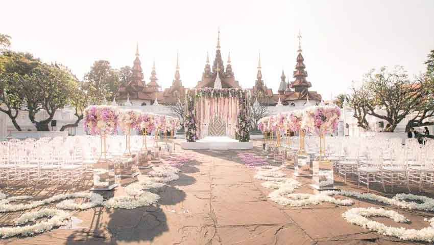 Dhara Devi Chiang Mai Wedding Package (20 pax)