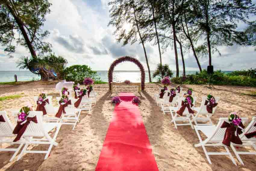 Jw Marriott Phuket Resort & Spa Wedding Package (40 pax)