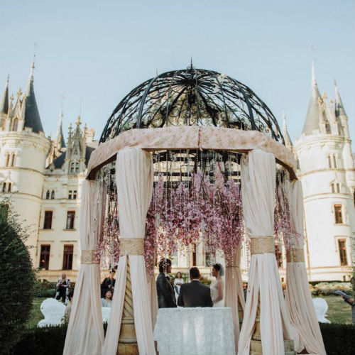 """Just Two"" Garden Gazebo Wedding Package With One Night Stay at Chateau Challain"