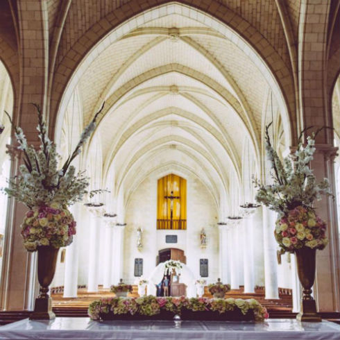 """Just Two"" European Church Wedding Package With Two Night Stay at Chateau Challain"