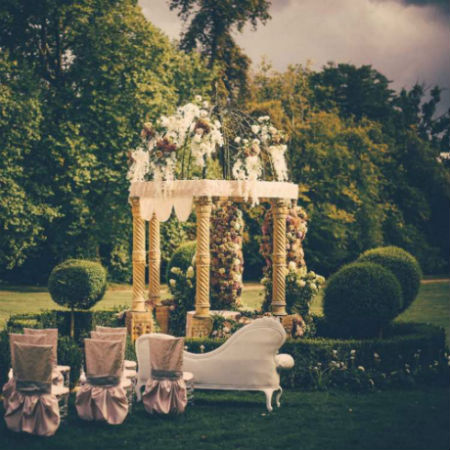 """Just Two"" Garden Gazebo Wedding Package With Two Night Stay at Chateau Challain"