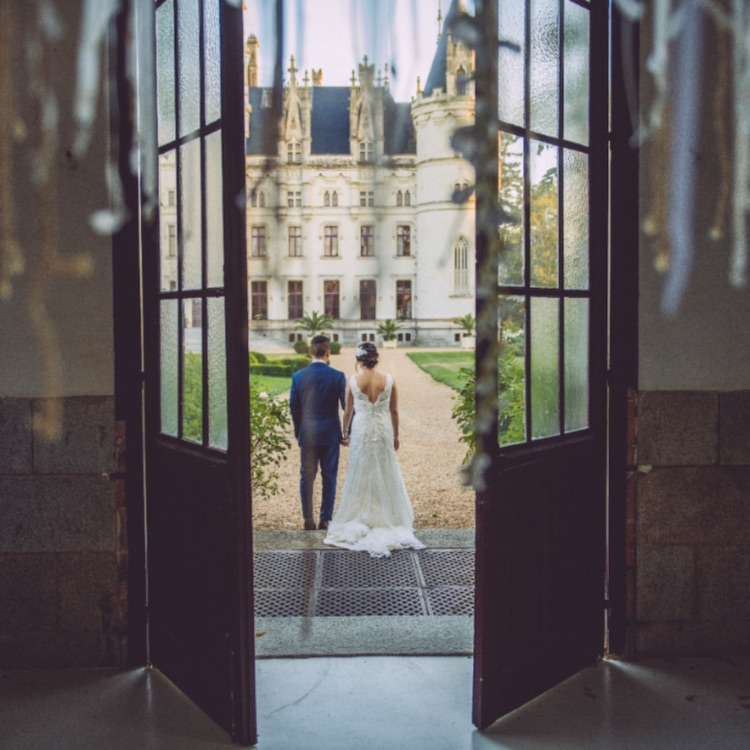 """Just Two"" Garden Gazebo Wedding Package With One Night Stay at Chateau Challain -3"
