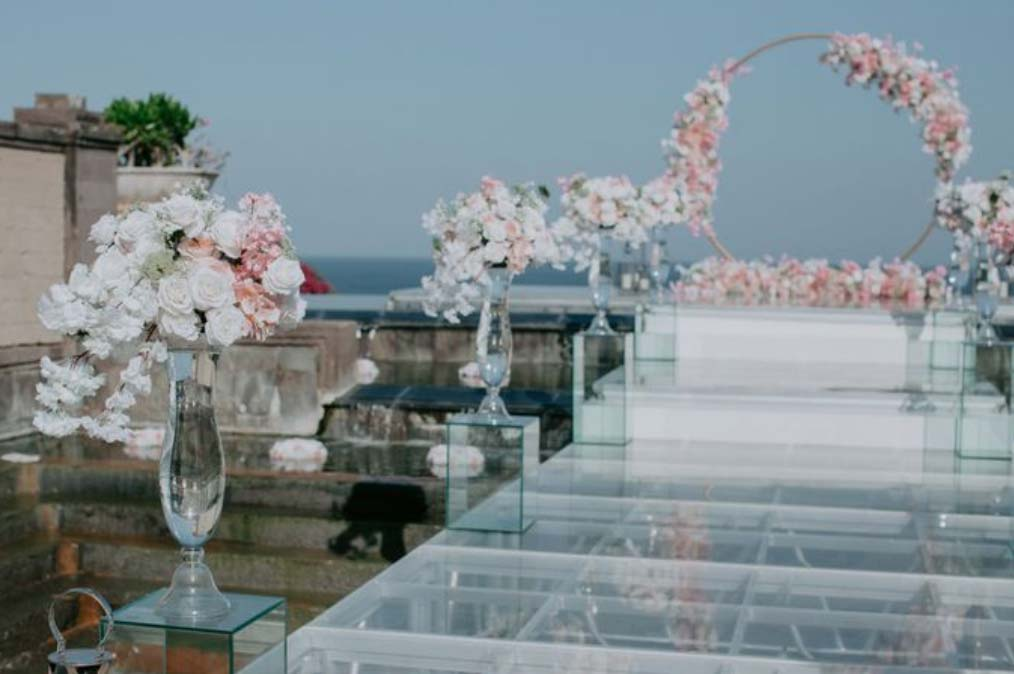All-Inclusive Wiwaha Villa Poolside Wedding at Hilton Bali Resort (30 pax) -13
