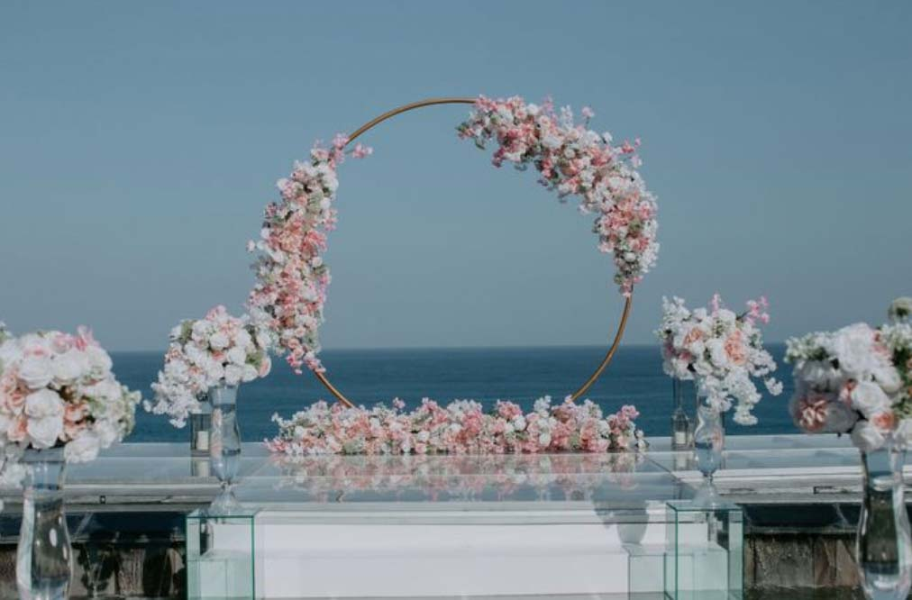 All-Inclusive Wiwaha Villa Poolside Wedding at Hilton Bali Resort (30 pax) -10