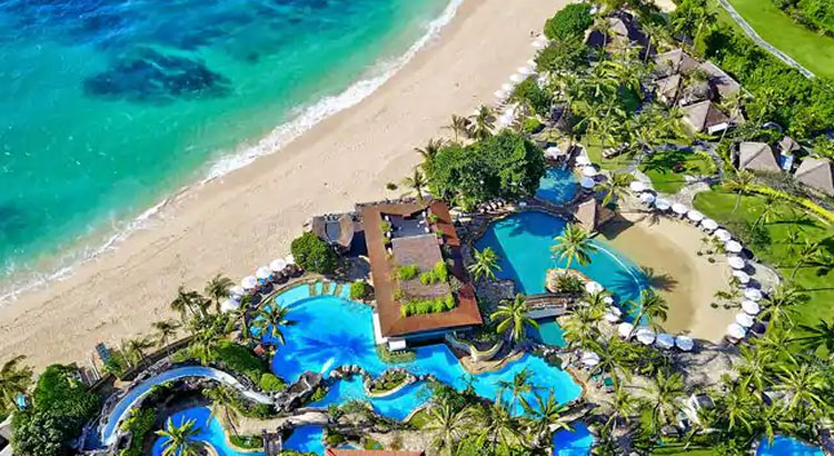All-Inclusive Wiwaha Villa Poolside Wedding at Hilton Bali Resort (30 pax) -23