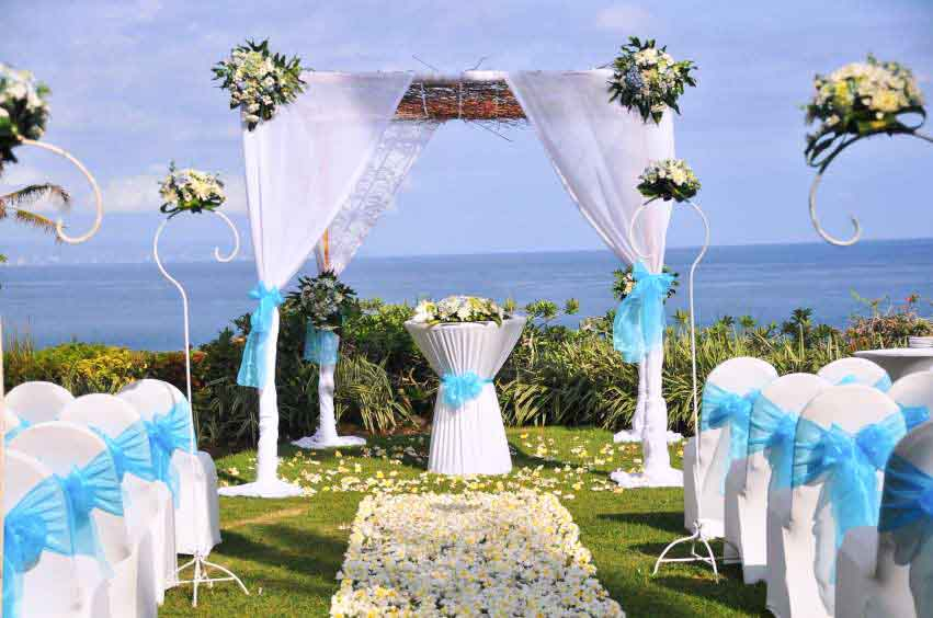 All-Inclusive Wiwaha Villa Poolside Wedding at Hilton Bali Resort (30 pax) -20