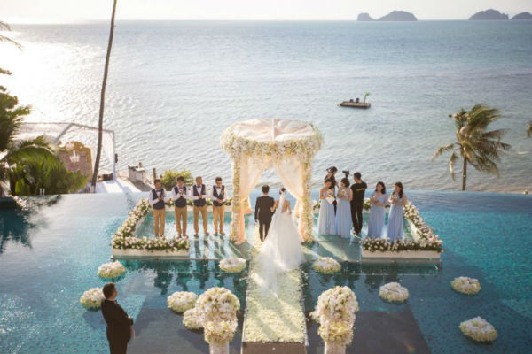 Conrad Koh Samui Wedding Package (20 pax)