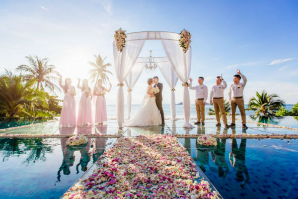 Conrad Koh Samui Wedding Package (20 pax)-10