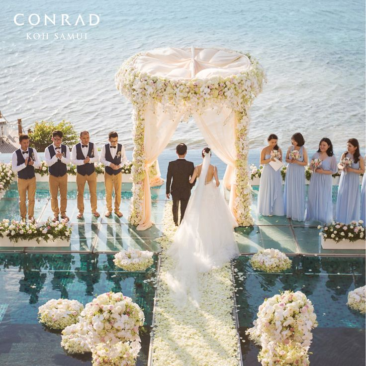 Conrad Koh Samui Wedding Package (20 pax)-1