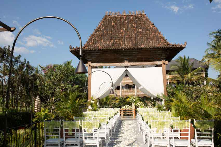 Alaya Resort Ubud Wedding Package (2 pax)