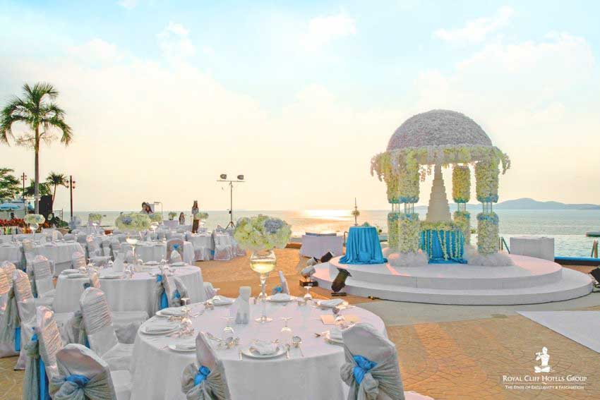 Royal Cliff Hotels Group Wedding Package (50 pax)