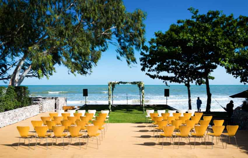X2 Kui Buri Resort Wedding Package (50 pax)