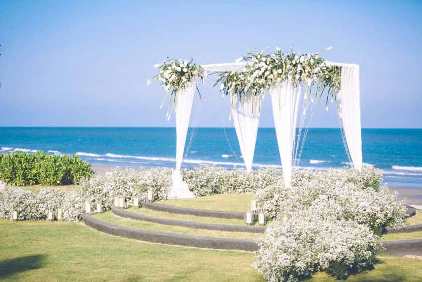 Baba Beach Club Hua Hin Wedding Package (30 pax)