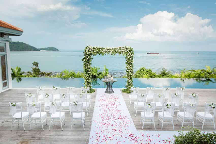 Amatara Wellness Resort Wedding Package (15 pax)