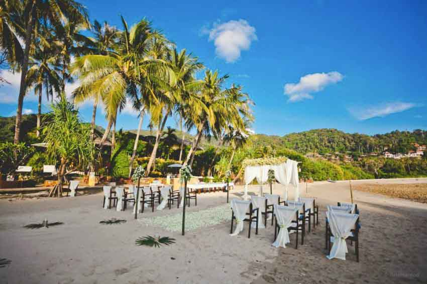 Phra Nang Lanta Wedding Package (20 pax)