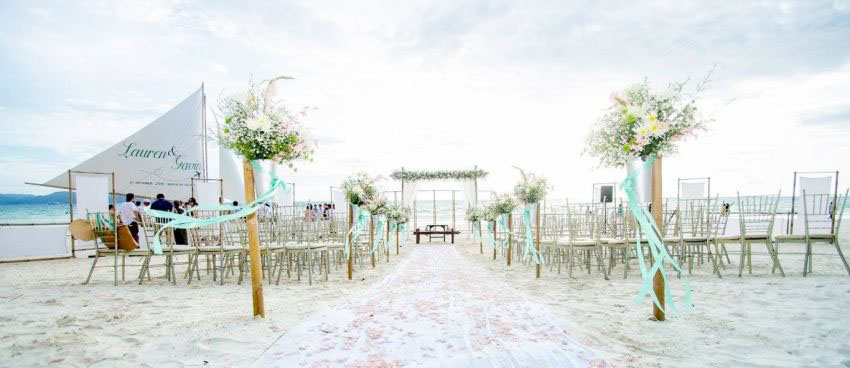 Sea Wind Boracay Wedding Package (40 pax)