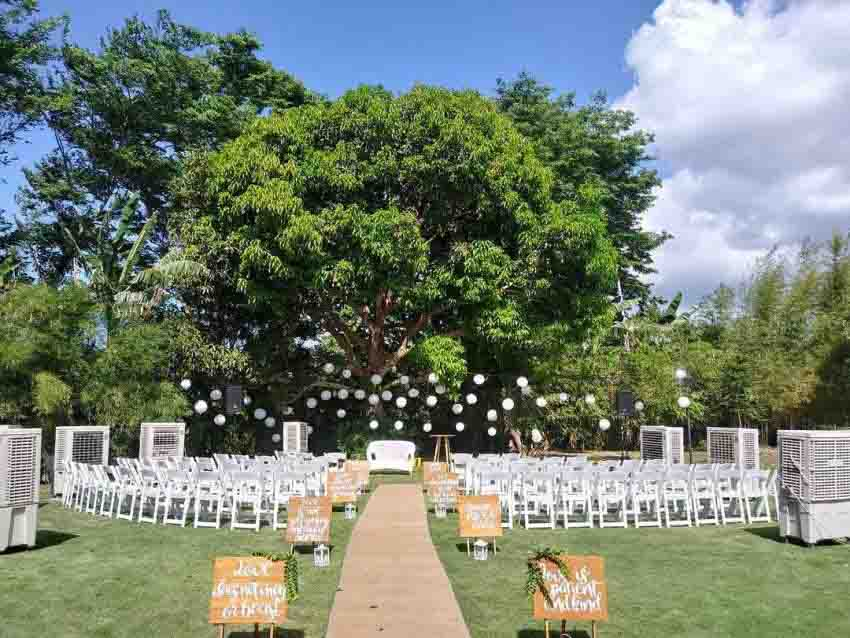 Villa Natura Taal Wedding Package (20 pax)
