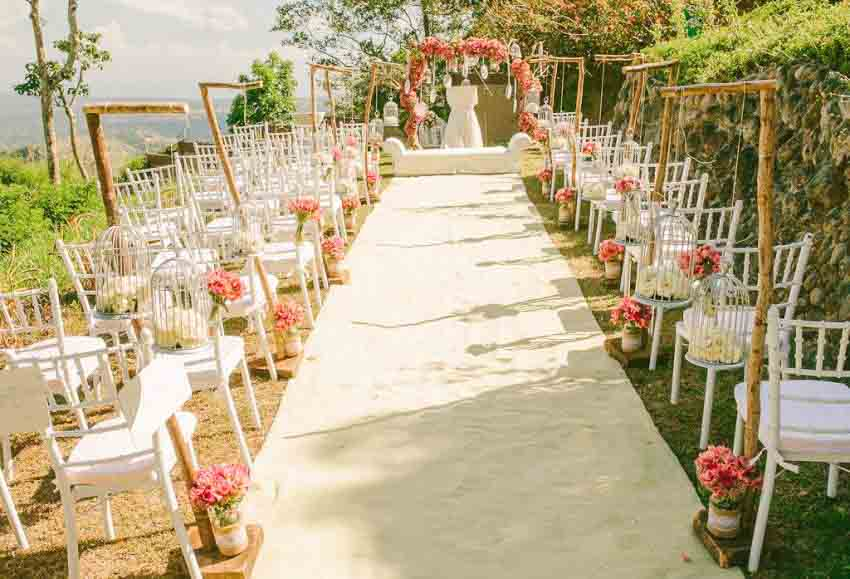 Rosemont Gardens Wedding Package (20 pax)