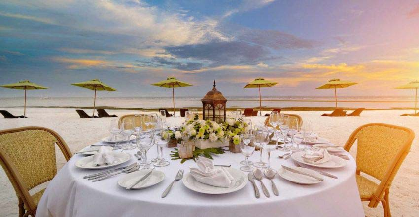 South Palm Resort Wedding Package (20 pax)