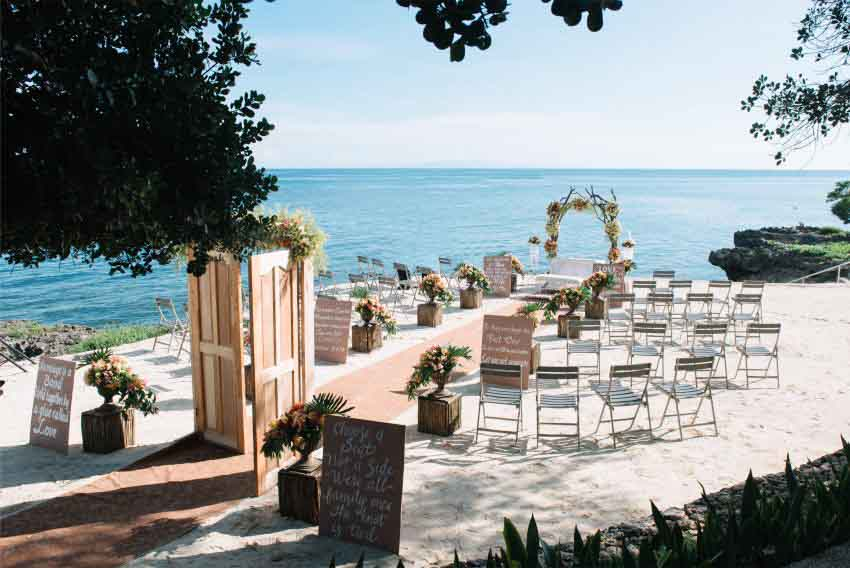 Be Grand Resort Bohol Wedding Package (20 pax)