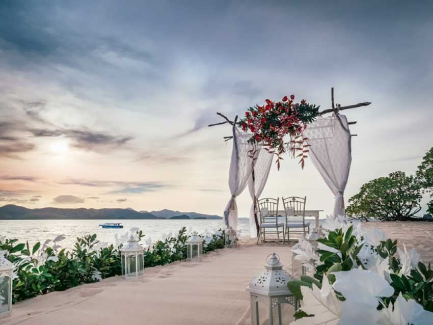 Club Paradise Palawan Wedding Package (30 pax)