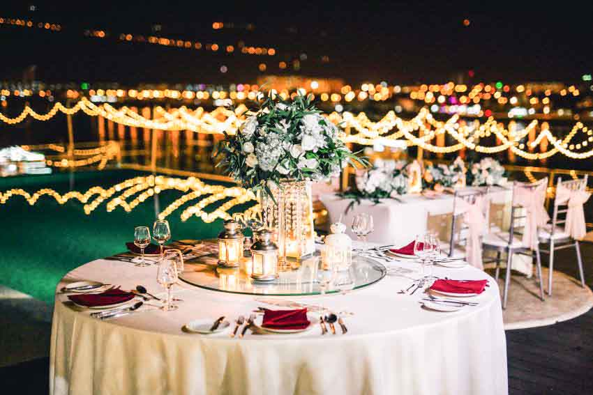 Novotel Danang Premier Han River Wedding Package (40 pax)