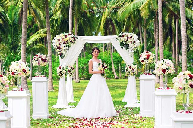 Picturesque All-Inclusive Koh Samui Wedding with Champagne-11