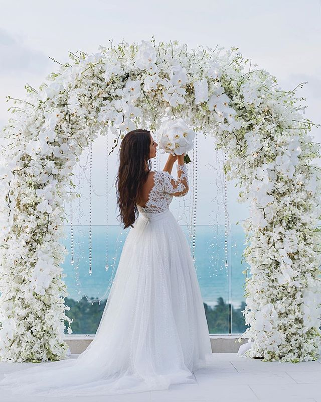 Picturesque All-Inclusive Koh Samui Wedding with Champagne-2