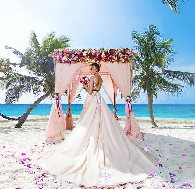 Picturesque All-Inclusive Koh Samui Wedding with Champagne-6