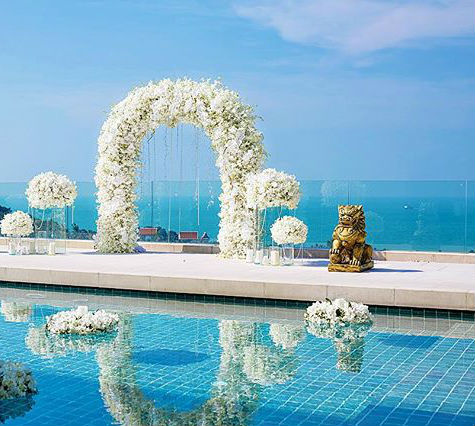 Picturesque All-Inclusive Koh Samui Wedding with Champagne