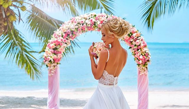 Ultra Romantic All-Inclusive Wedding + Champagne + Dinner for 2