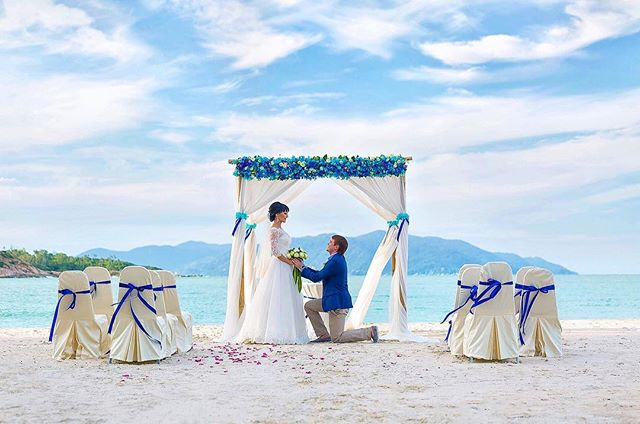 Picturesque All-Inclusive Koh Samui Wedding with Champagne-4