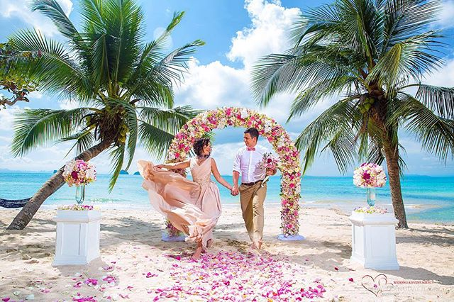 Picturesque All-Inclusive Koh Samui Wedding with Champagne-7