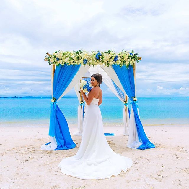 Picturesque All-Inclusive Koh Samui Wedding with Champagne-8