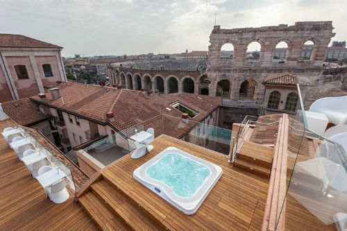 All-Inclusive Intimate Verona, Italy Rooftop Terrace  (20 pax)